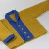 Baby Jacket in Garter Stitch