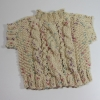 Lacy Cabled Sweater Washcloth