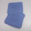 Diagonal Knit Dishcloths