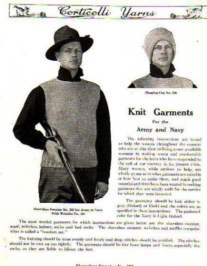 ArmyKnitting