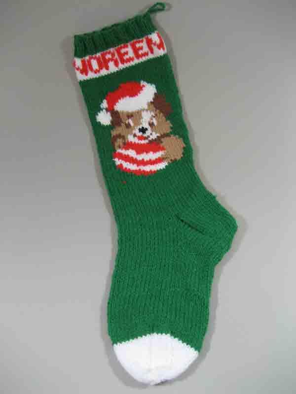 Mary Maxim\'s Christmas stockings   Long Lake Yarns