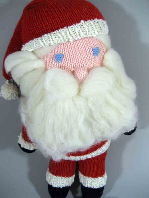 Knitting Room Birmingham : Knitted santa long lake yarns