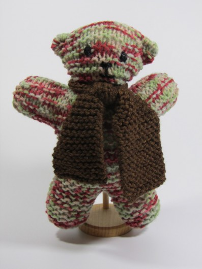 Knitted Teddy Bear Pattern For Charity : Bear Pair Teddy Bear Long Lake Yarns