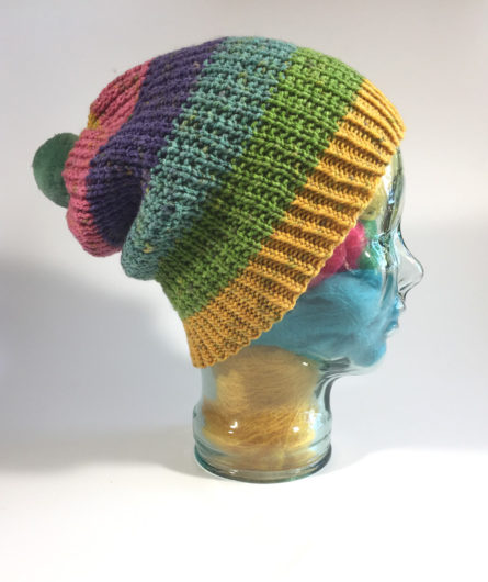 a54feacdab5dc I knit mine in the lovely-to-look-at Brillo Pad competitor yarn