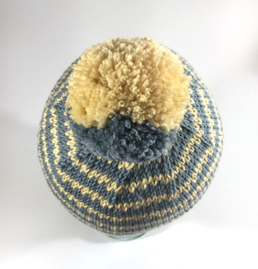 17e241b476d43 Everyone who looks at my Scrappy Ski Cap chortles on about liking the two- color pompom. There s no trick to that